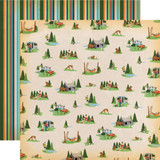 Gone Camping: Campout 12x12 Patterned Paper