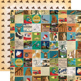 Gone Camping: Multi Journaling Cards 12x12 Patterned Paper