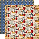 Gone Camping: Gearing Up 12x12 Patterned Paper