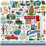 Gone Camping: Element Sticker Sheet