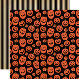 Happy Halloween: Laughing Pumpkins 12x12 Patterned Paper