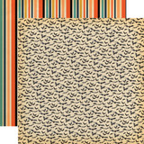 Happy Halloween: Bats Galore 12x12 Patterned Paper