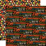Happy Halloween: All Hallows Eve 12x12 Patterned Paper