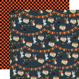 Happy Halloween: Costume Party 12x12 Patterned Paper