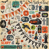 Happy Halloween: Element Sticker Sheet