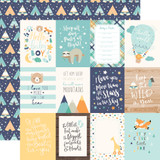 Hello Baby Boy: 3x4 Journaling Cards 12x12 Patterned Paper