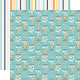 Hello Baby Boy: Boy Mobiles 12x12 Patterned Paper