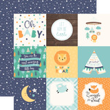 Hello Baby Boy: 4x4 Journaling Cards 12x12 Patterned Paper