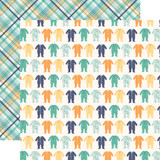Hello Baby Boy: Sleepers 12x12 Patterned Paper