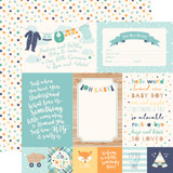 Hello Baby Boy: 4x6 Journaling Cards 12x12 Patterned Paper