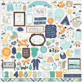 Hello Baby Boy: Element Sticker Sheet