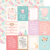 Hello Baby Girl: 3x4 Journaling Cards 12x12 Patterned Paper
