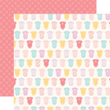 Hello Baby Girl: Onesies 12x12 Patterned Paper