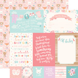 Hello Baby Girl: 4x6 Journaling Cards 12x12 Patterned Paper
