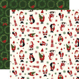 Here Comes Santa Claus: Jingle All the Way 12x12 Patterned Paper