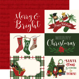 Here Comes Santa Claus: 6x4 Journaling Cards 12x12 Patterned Paper