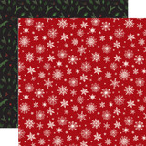 Here Comes Santa Claus: Merry Little Christmas 12x12 Patterned Paper