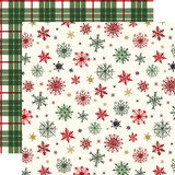 Here Comes Santa Claus: Holiday Greetings 12x12 Patterned Paper