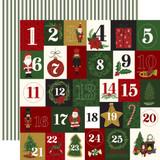 Here Comes Santa Claus: Twenty-Five Days 12x12 Patterned Paper