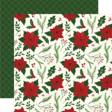 Here Comes Santa Claus: Merry & Bright 12x12 Patterned Paper