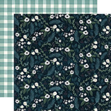 Home Again: Home Floral 12x12 Patterned Paper
