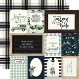 Home Again: Journaling Cards 12x12 Patterned Paper