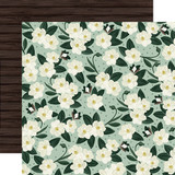 Home Again: Magnolias 12x12 Patterned Paper