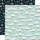 Home Again: Canisters 12x12 Patterned Paper
