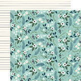 Home Again: Lovely Floral 12x12 Patterned Paper