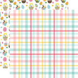 I Love Easter: Easter Plaid 12x12 Patterned Paper