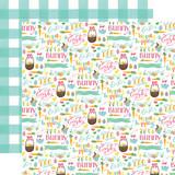 I Love Easter: Easter Basket 12x12 Patterned Paper