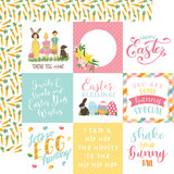 I Love Easter: 4X4 Journaling Cards 12x12 Patterned Paper