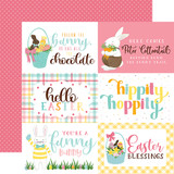I Love Easter: 4X6 Journaling Cards 12x12 Patterned Paper