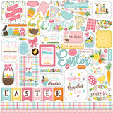 I Love Easter: Element Sticker Sheet