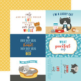 I Love My Cat: 4X6 Journaling Cards 12x12 Patterned Paper