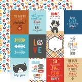 I Love My Cat: 3X4 Journaling Cards 12x12 Patterned Paper