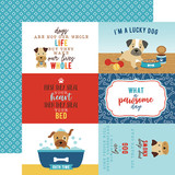 I Love My Dog: 4X6 Journaling Cards 12x12 Patterned Paper
