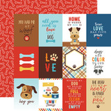 I Love My Dog: 3X4 Journaling Cards 12x12 Patterned Paper