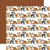 I Love My Dog: Go Fetch 12x12 Patterned Paper