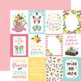 I Love Spring: 3X4 Journaling Cards 12x12 Patterned Paper