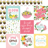 I Love Spring: 4X4 Journaling Cards 12x12 Patterned Paper