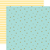 I Love Spring: Busy Bumblebees 12x12 Patterned Paper