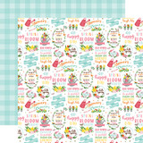 I Love Spring: Hello Spring 12x12 Patterned Paper