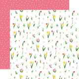 I Love Spring: May Flowers 12x12 Patterned Paper