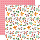 I Love Spring: Blissful Butterflies 12x12 Patterned Paper