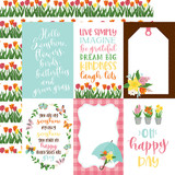 I Love Spring: 4X6 Journaling Cards 12x12 Patterned Paper