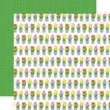 I Love Spring: Greenhouse Gifts 12x12 Patterned Paper