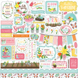 I Love Spring: Element Sticker Sheet