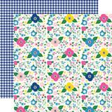 I Love Summer: Summer Floral 12x12 Patterned Paper
