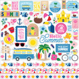 I Love Summer: Element Sticker Sheet